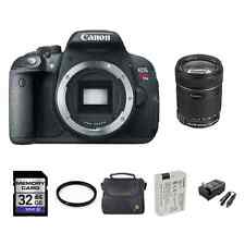 Canon EOS Rebel T5i Digital Camera w/18-135mm + 2 Batteries, 32GB & More