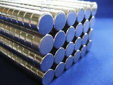 10 Stück NEODYM MAGNETE runde Scheibe 10x5 mm N52 vernickelt