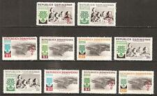 Dominican Rep. # 522-4/Cb19-20 Mnh World Refugee Year