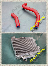 aluminum radiator and silicone hose FIT Honda CR250 CR 250 R CR250R 1997-99 RED