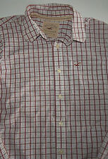 Hollister of Ca. Men's Multi-Color Plaid Long Sleeve Shirt Size Large