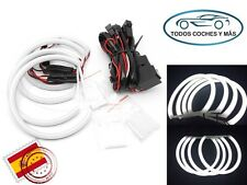 KIT COTTON LED ANGEL EYES BMW E46 NON PROYECTOR 2 AROS DE 145MM 2 AROS DE 131MM