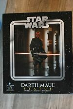Star Wars Gentle Giant Darth Maul Statue International Edition PLEASE READ!!