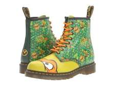 Dr Martens Mikey, TMNT Kids Leather Eyelet Boots Limited Edition, Sz 8 AirWair