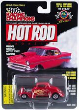 Racing Champions Hot Rod Magazine Drag Racing Series '34 Ford Coupe MOC 1997