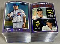 2019 Topps Heritage Purple Chrome Near Complete Set Lot Of 95 Diff Mookie Betts