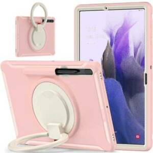 Hybrid Rubber Shockproof Case Cover for Samsung Galaxy Tab S7 / S7 Plus / S7 FE