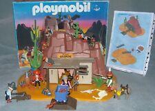 Playmobil Wild WestMcLaren's Goldmine and Accessories 3802Complete + Box VGC