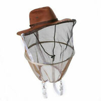 Beekeeping Beekeeper Cowboy Hat Mosquito Bee Insect Face Veil Head Net R0M2 O0X9