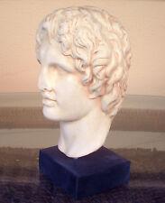 Alexander the Great Macedonian Bust- King Of Vergina