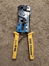 Ideal Telemaster 30 499 Rj 22 Amp Rj 11 Multi Crimp Tool Steel Frame