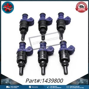 New Set (6) Fuel Injectors 1439800 For BMW 330Ci 330i 330Xi 530i 3.0L 2001-2004