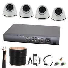 Komplettset 4-Kanal Digitaler Videorekorder und 4 x TVI11 Überwachungskamera