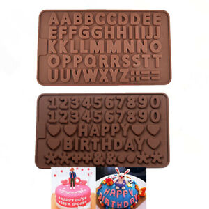 Silicone Mould Cake Ice Tray Jelly Candy Cookie Chocolate Baking Mold AU STOCK