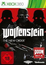 X360 / Xbox 360 Spiel - Wolfenstein: The New Order (USK18) (mit OVP)