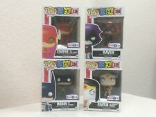 Funko Pop! TV TTG Teen Titans GO LOT Raven Starfire Wonder Woman Flash DC Batman