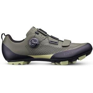 Fizik Terra X5 MTB Shoe - military green/tangy green 45.5