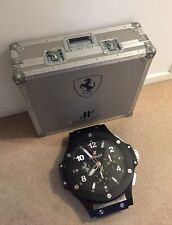 Hublot Ferrari big bang watch Formula one rare F1 Vettel Leclerc Alonso