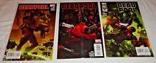 Deadpool #1-3 1 2 3 (2008) Way/Medina Clayton Crain Cover Secret Invasion HOT!
