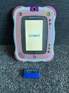 Vtech InnoTab 2 With Game Cartridge Good Condition  Pink