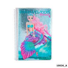 Depesche Top Model Fantasy Model Colouring Book Mermaid 10036_A