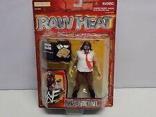 WWF Mankind 1999 Raw Heat action figure NIP NIB Jakks Pacific