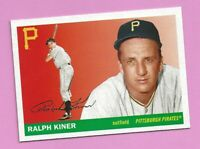 2020 Topps Archives Ralph Kiner #74 Pittsburgh Pirates