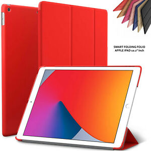 """Leather Protective Smart Case Hard Cover For iPad 10.2"""" 8th/7th Gen 2020/2019"""