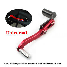 Universal CNC Aluminum Motorcycle Riding Kick Starter Lever Bar Pedal Gear Lever