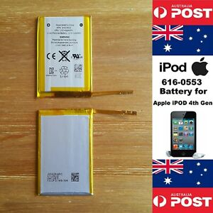 GENUINE APPLE iPOD TOUCH 4th GEN  BATTERY 616-0553 930mAh - LOCAL SELLER
