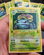 1st Edition Venusaur custom sticker