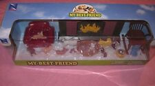 NEW RAY TOYS MY BEST FRIEND  Play Set W/ 11 Dog Figures
