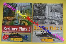 book libro+ CD BERLINER PLATZ 3 Intensivtrainer 2004 LONGENSCHEIDT tedesco (LG1)