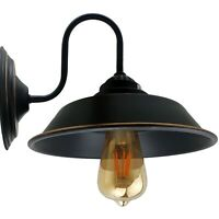 Retro Vintage wall Light Lampshade Wall Sconce Modern Industrial Wall Fixture