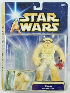 Star Wars ESB Hoth Attack Wampa Figure with Ice Cave 2004 MOC