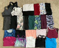 Woman Size S/M Athletic Clothing Lot Of 28 Items