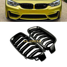 For BMW F30 F31 3 Series Kidney Grill Grille Gloss Black M3 Look Sport 2012-2016