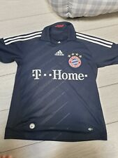 FC Bayern Munchen Munich Adidas T Home Football Away Shirt 2008 2009 No 7 S