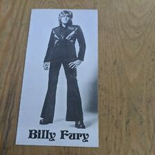 More details for vintage billy fury photo card 2.75