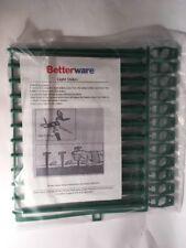 Betterware Pack of 12 Garden Light Stakes Ground Spikes For Outdoor Lighting