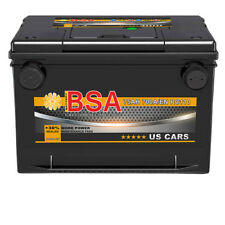 US Autobatterie 75Ah USA Car Batterie PKW USA 70Ah 72Ah 80Ah US Gewinde Pole
