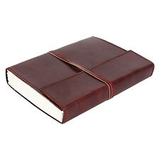 Vintage Retro Leather Journal Travel Notepad Notebook Blank Diary Organizer