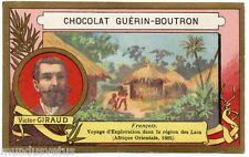 CHROMO Guérin-Boutron . Explorateurs. explorers. Victor GIRAUD