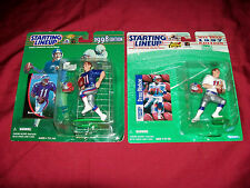 New England Patriots Drew Bledsoe Starting Lineup 97 98 Football Action Figure