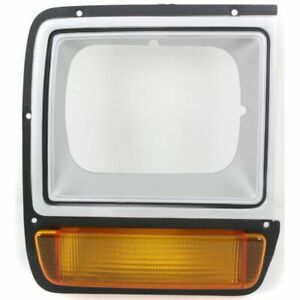 New RH Side Painted Head Lamp Door With Single H/L Fits D150 D250 CH2513122