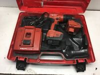 Hilti SF 144-A Cordless Drill Set With Charger & 2x CPC Batteries & Case