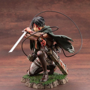 Attack on Titan Artfx J Levi PVC Action Figure Anime Figure Toy Collectible Gift