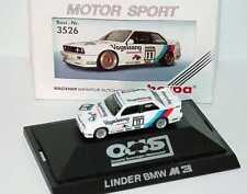1:87 BMW M3 E30 DTM 1990 Linder Valentina Nr.11 Heger Altfried - herpa 3526