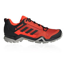 adidas Mens Terrex AX3 Walking Shoes - Red Sports Outdoors Breathable