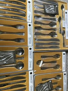 Vtg Retro 60s/70s Spear & Jackson Champagne Cutlery Designed By Brian Asquith